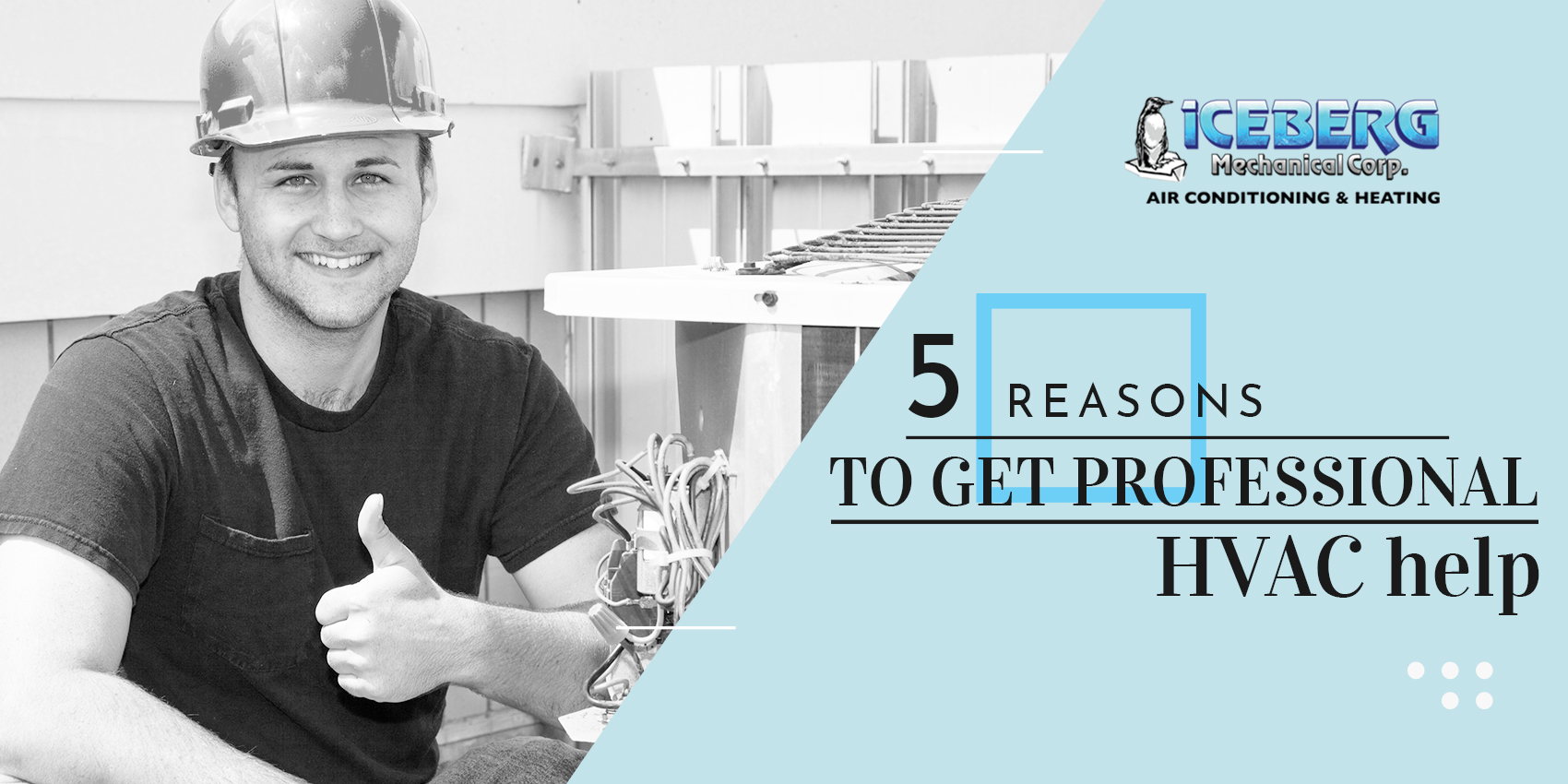 5 Reasons To Get Professional HVAC Help