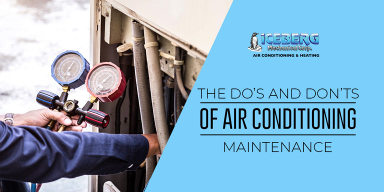 The Do's And Don'ts of Air Conditioning Maintenance